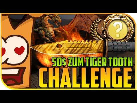 50$ zum M9 Tiger Tooth CHALLENGE!! WTF ALS OB - Cs:Go Gambling csgoatse