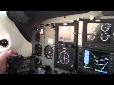 A Hand Flown Approach in The PA46 Meggitt Equipped Meridian