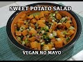 Sweet Potato Salad Recipe Vegan No Mayo