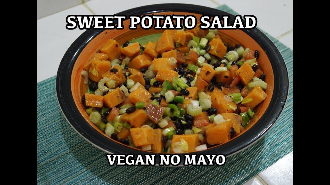 Sweet Potato Salad Recipe No Mayo