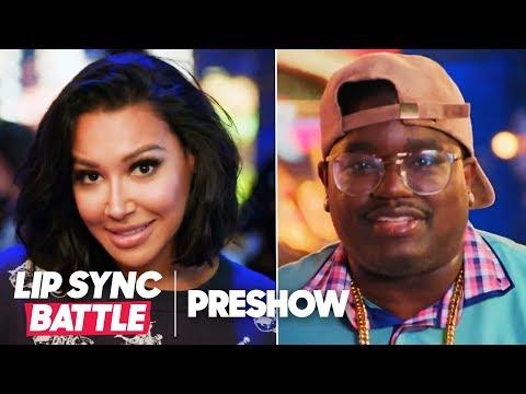 Naya Rivera vs. Lil Rel Howery  Lip Sync Battle Pre