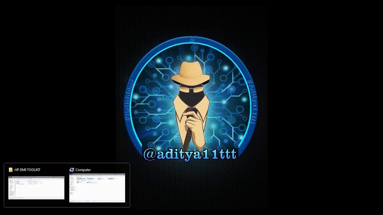 #LaptopRepair How to use Dmi tool Solution by #aditya11ttt & #SatishBhai
