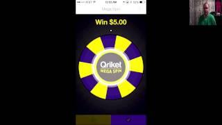 Qriket App Walkthrough - Make Easy Money With Your iPhone Smartphone