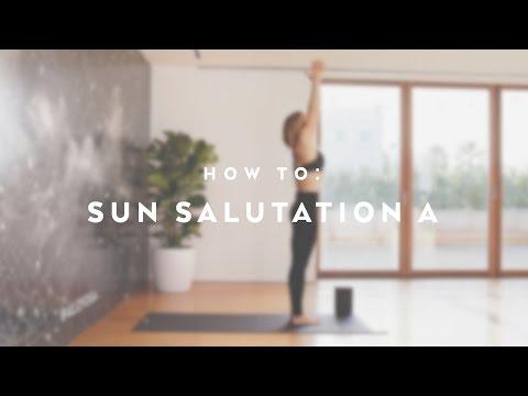 How To: Sun Salutation A with Caley Alyssa