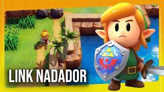 ZELDA LINK'S AWAKENING #4 - O Calabouço das Cores e a Natação! | Nintendo Switch Gameplay Ao Vivo
