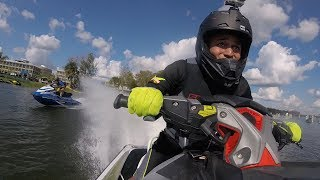 Yamaha GP1800's Cant Keep Up With this RXP-X 400HP (Hydro-Drag World Championship)