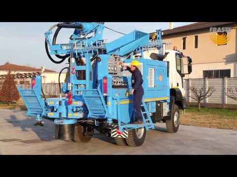 Fraste MULTIDRILL XL Water Well Drilling rig on truck