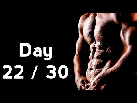 30 Days Six Pack Abs Workout Program Day: 22/30