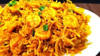 Easy Jhinga Pulao Recipe l Prawns Pulao   Cooking with Benazir