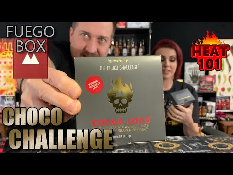 The Choco Challenge by Fuego Box