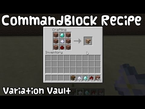 Minecraft Bukkit Plugin Command Block Recipe Craft