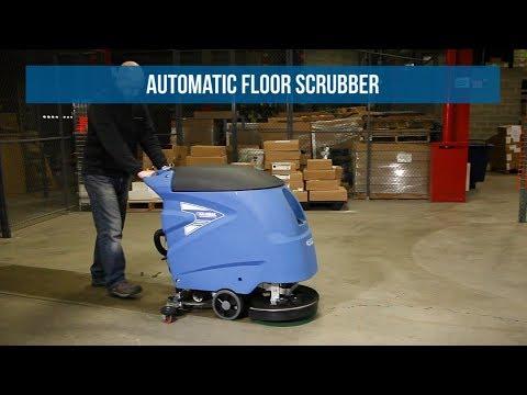 Global Industrial™ Auto Floor Scrubber 18