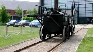 Replica of the Penydarren Steam Locomotive