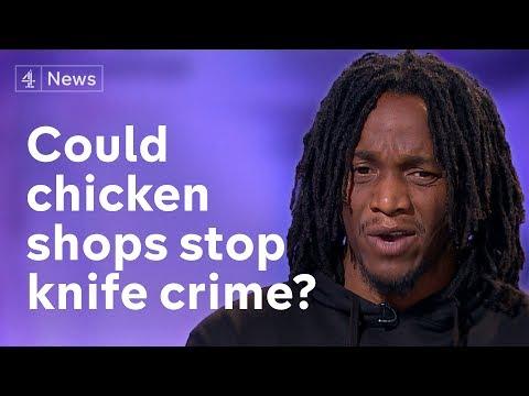 Government's chicken shop knife crime campaign branded 'borderline racist'