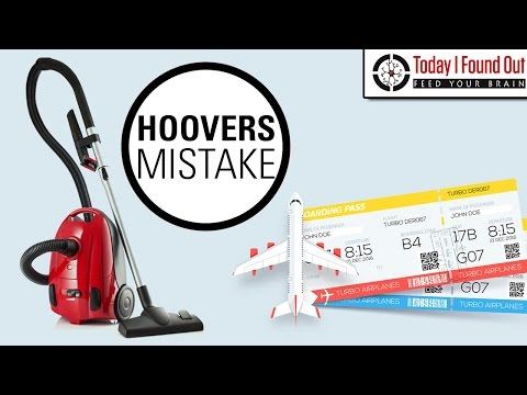 Free Flights for a Vacuum Cleaner - Hoover's £50 Million Mistake