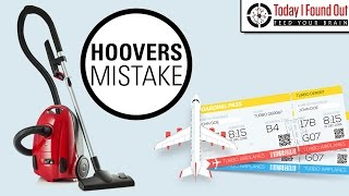 Hoover's £50 Million Mistake...