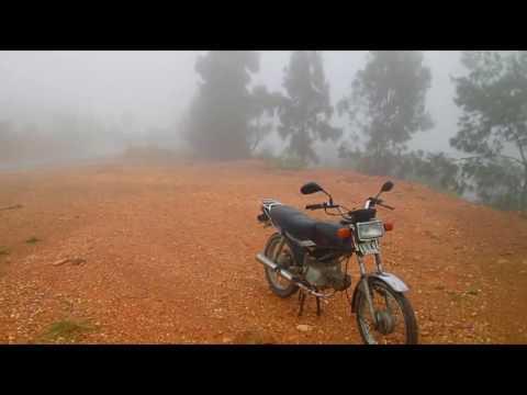 Secret mountain trail from Metinaro to Remexio. Great for 1 day bike trip near Dili, Timor Leste!