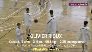 Download Video OLIVIER RIOUX,  2,18 m. 13 años, Real Madrid - Torneo U13 Fiba-Castelldefels-19 (BasketCantera.TV) MP3 3GP MP4