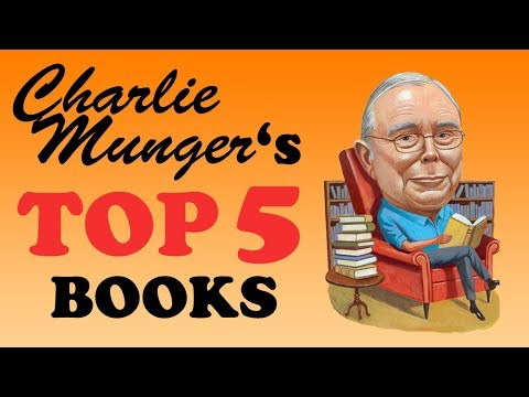 Charlie Munger Top 5 Book Recommendations   Investor   Businessman   Author   Philanthropist PART 1