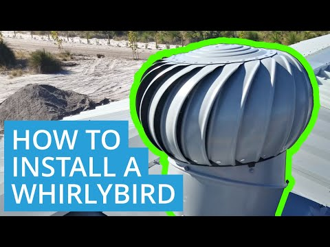 How to Install a Whirlybird on a Metal Roof