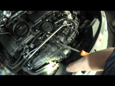 Audi 8P: A3 2.0T FSi Thermostat / Housing Removal