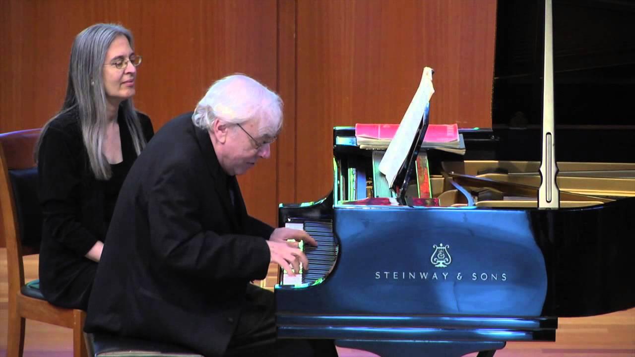 Richard Goode, pianist - Brahms: 4 Klavierstücke, Op. 119