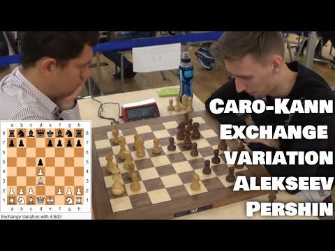 Allowing opponent to re-group | Alekseev - Pershin | Caro-Kann Exchange variation