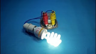 free energy device 2019 for lights diy science projects Copper Coil & Spark Plug & speaker