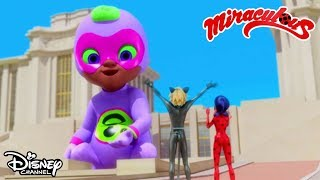 GIGANTIC Baby-sitting | Miraculous Ladybug | Official Disney Channel Africa