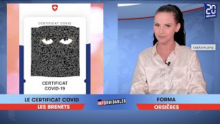 Les Informidables - émission du 13 août 2021