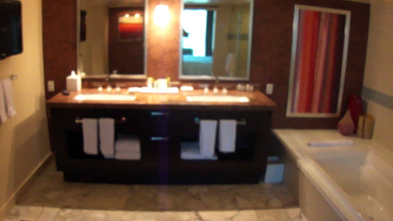 The Mirage 1 Bedroom Tower Suite Las Vegas Youtube