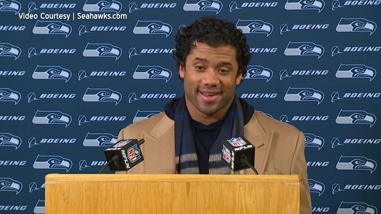 Russell Wilson Excited About Future 2020-01-13