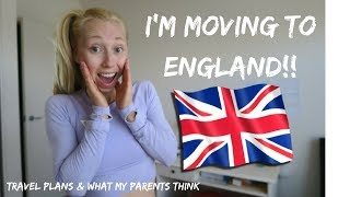 moving to england