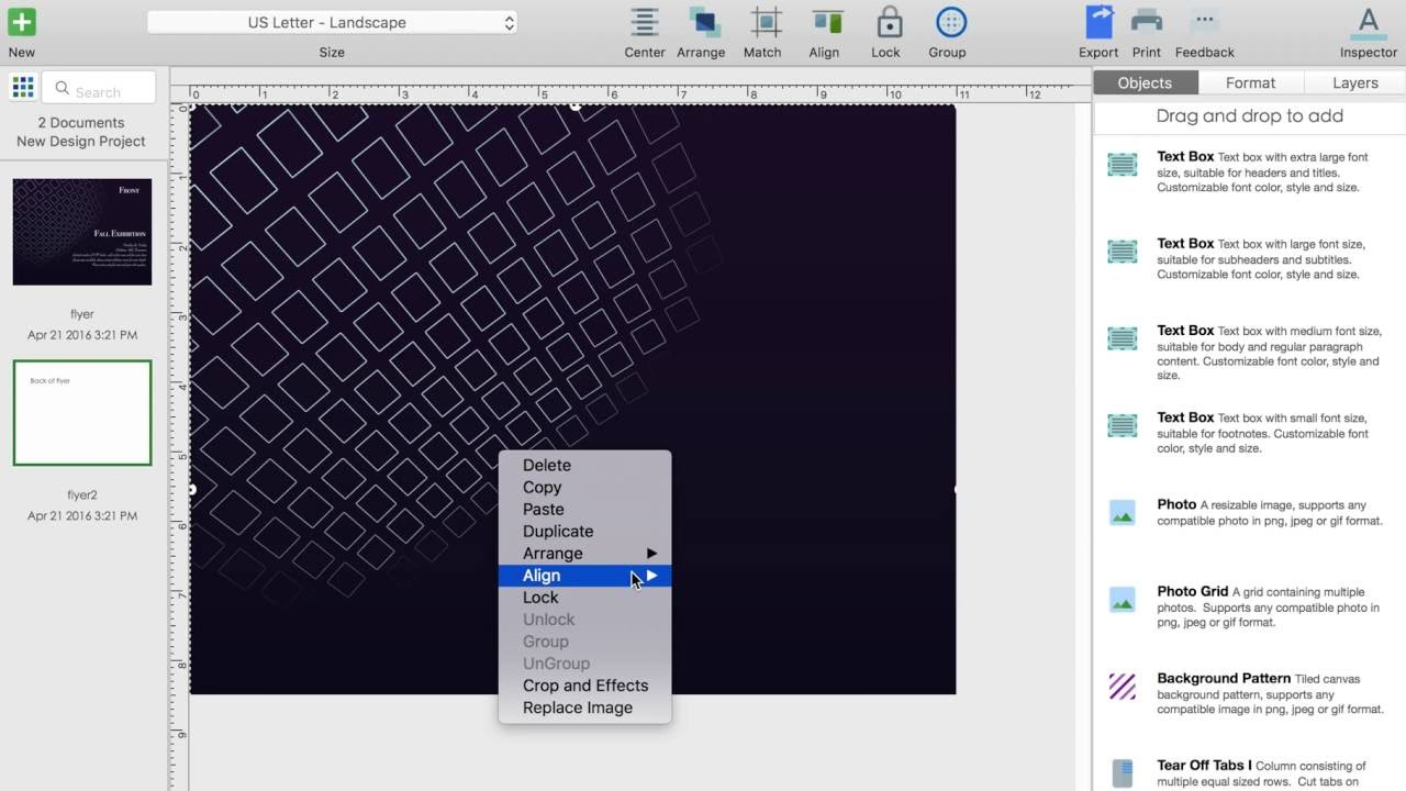 flyer software for mac