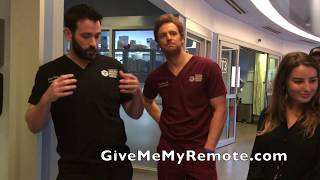 CHICAGO MED: Colin Donnell and Nick Gehlfuss Show Off the Set (Part 1)