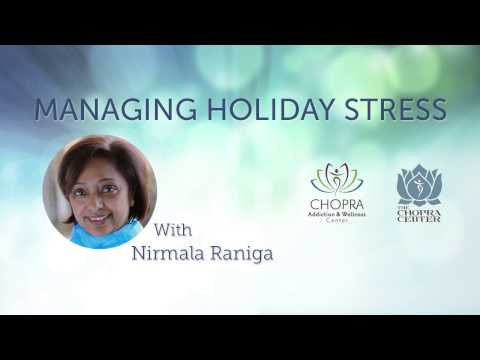How to Manage Holiday Stress with Nirmala Raniga