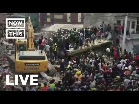 Building Collapses in Nigeria Trapping Children —LIVE | NowThis
