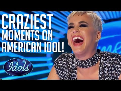 CRAZIEST & FUNNIEST Auditions & Moments On American Idol 2018 Auditions | Idols Global
