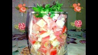 Праздничный Салат за 5 минут. Ну очень вкусный и простой рецепт.