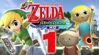 Let's Play The Legend of Zelda The Wind Waker HD Part 1: Eine Legende weht im Wind