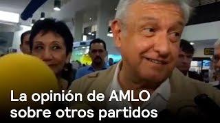 AMLO opina sobre Margarita Zavala como independiente - política - En Punto con Denise Maerker