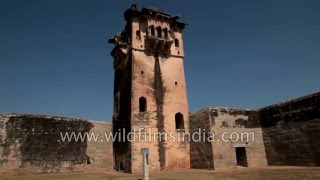 Watch tower at Zanana Enclosure in Hampi