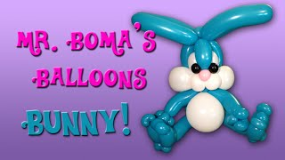 Bunny Rabbit Balloon Animal Tutorial (Balloon Twisting and Modeling #28)