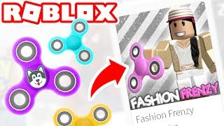 TOO MANY FIDGET SPINNERS IN ROBLOX!!