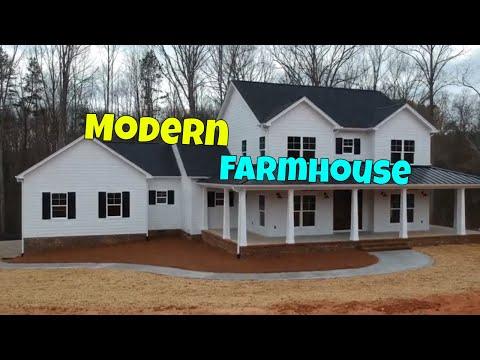 Modern Farmhouse/ Mike Palmer Homes Inc. Denver NC Home Builder