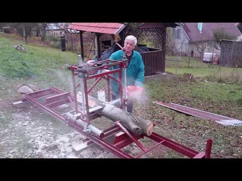 Domáci gáter na rezanie dreva