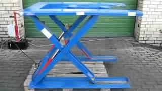 Hydraulischer Hubtisch Scherenhubtisch Youtube