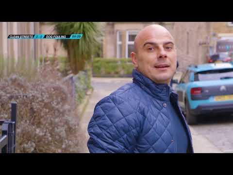 Our Edinburgh - He poops, he scores | Social Media Advert | Holyrood PR Agency in Edinburgh