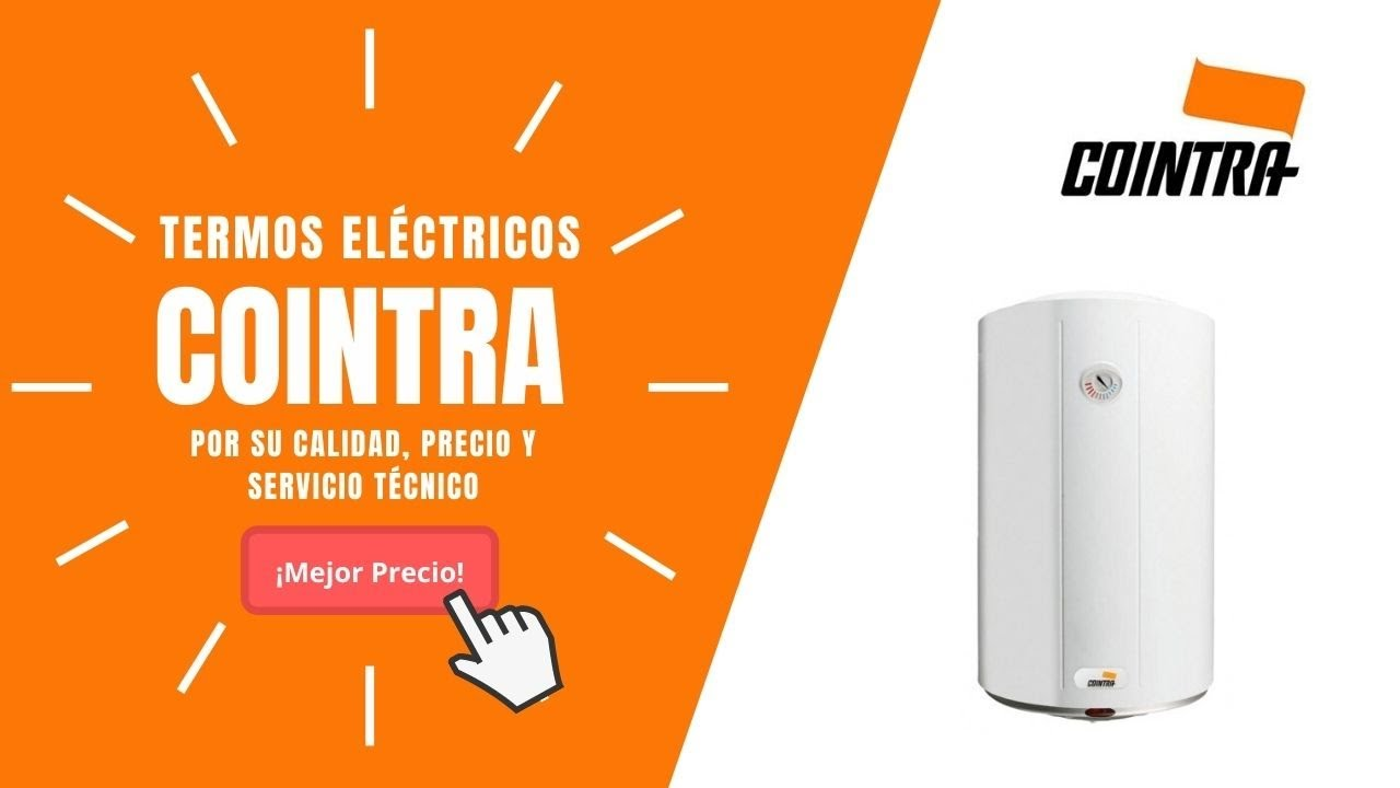 Termos el ctricos cointra con funci n smart youtube for Termos electricos alcampo