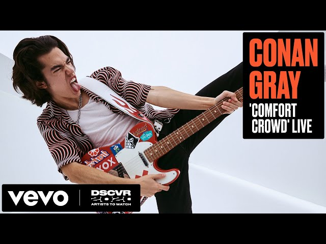 Conan Gray - Comfort Crowd (Live) | Vevo DSCVR Artists to Watch 2020